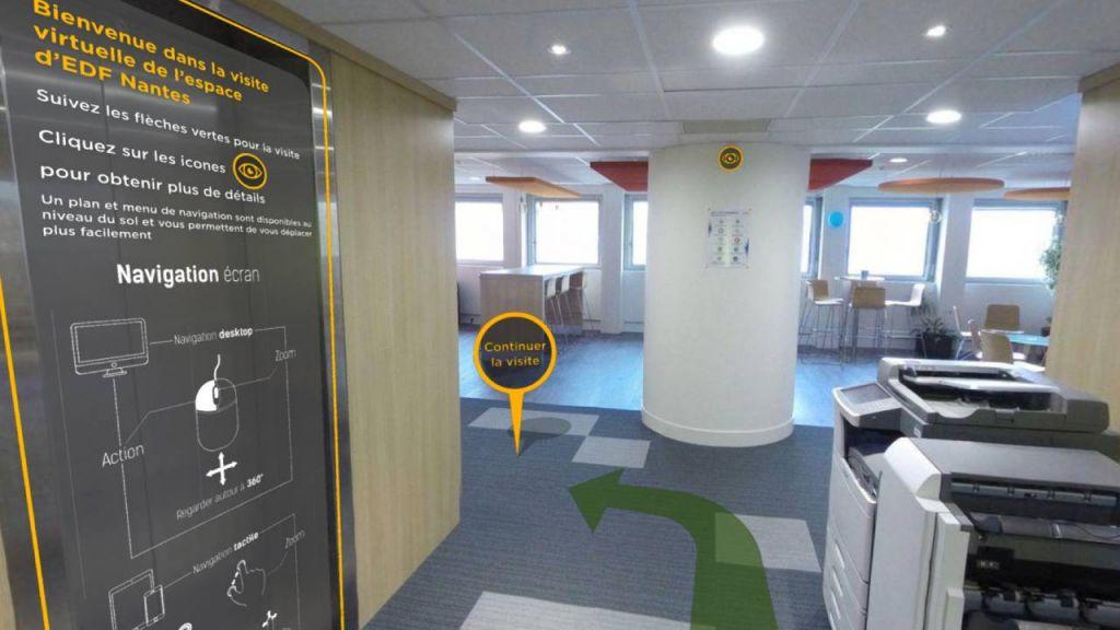 Visite virtuelle Speedernet Sphere
